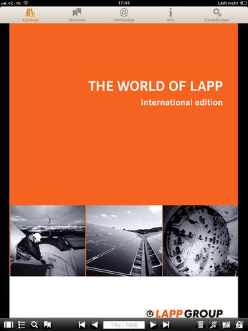 Lapp Group Catalogue