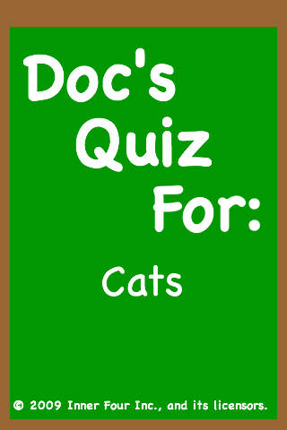 Doc's Quiz for: Cats