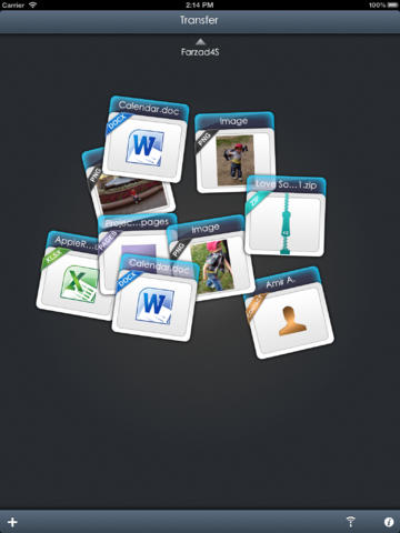 Transfer - File sharing screenshot