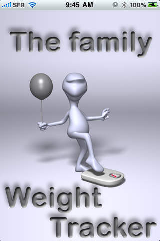 Fam Weight -The familly weight tracker