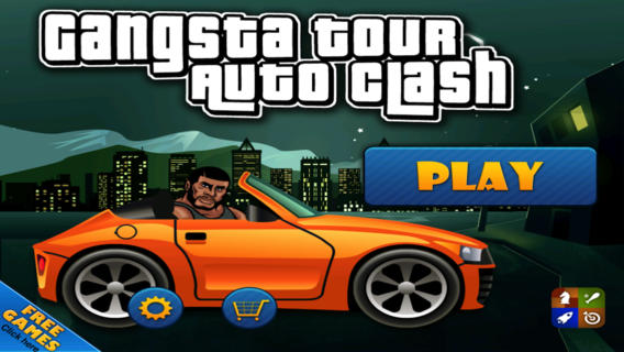 Auto Clash - Race Your Gangster car across the hills