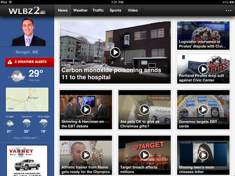 WLBZ2 for iPad