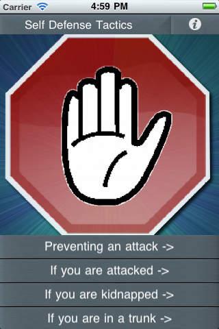Self Defense Tactics