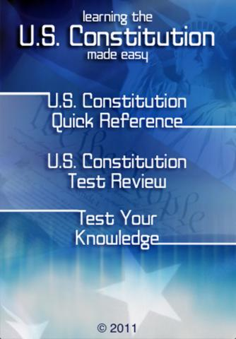 Learning the U.S. Constitution Made Easy