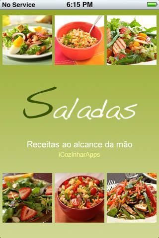 iCozinhar Saladas screenshot 1