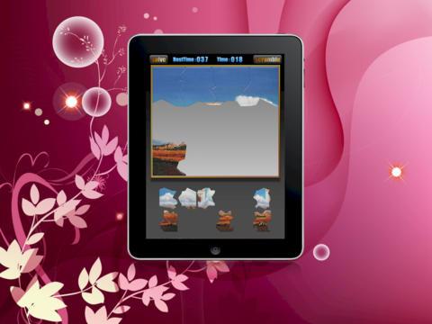 Jewish Temple Jigsaw Puzzle Game HD Lite iPad Screenshot 2