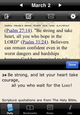 Martin Luther Devotional iPhone Screenshot 4