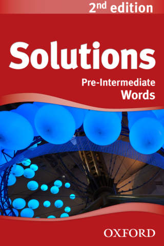 Solutions 2nd edition Pre-Intermediate Words