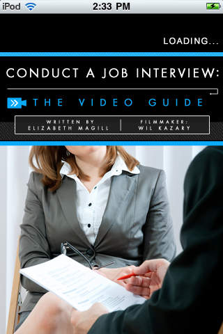Conduct a Job Interview: The Video Guide