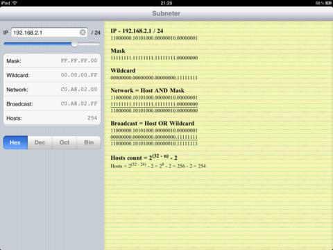 【免費工具App】Subneter-APP點子