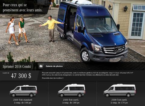 Mercedes-Benz Canada Sales Tool App