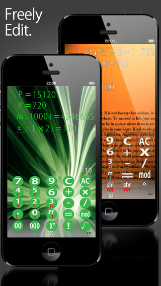 Calc touch