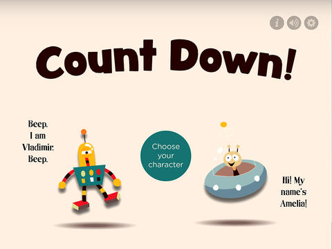 Count Down – Children's Counting Game