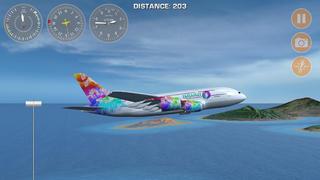 Airplane Fly Hawaii  Screenshot