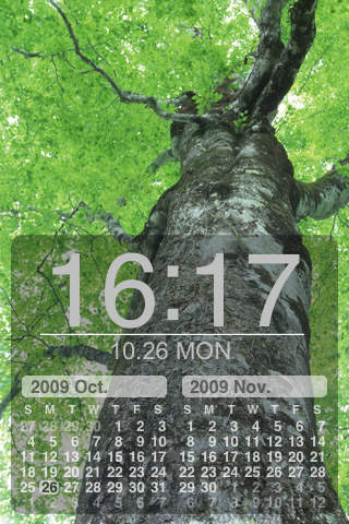Nature Photo Clock 365 Free
