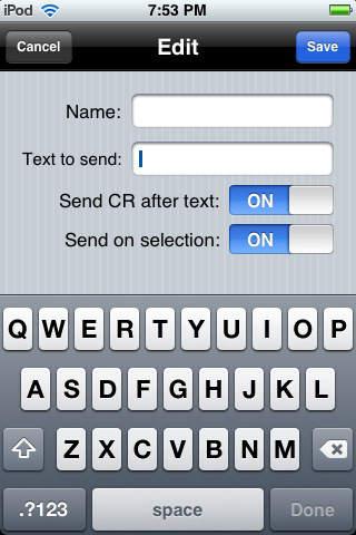 WiSnap Setup iPhone Screenshot 2