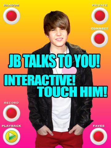 Talking Justin Bieber for iPad HD