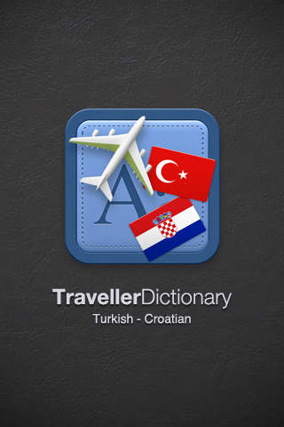 Traveller Dictionary and Phrasebook Turkish - Croatian