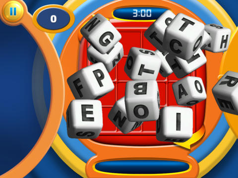 BOGGLE for iPad  Screenshot