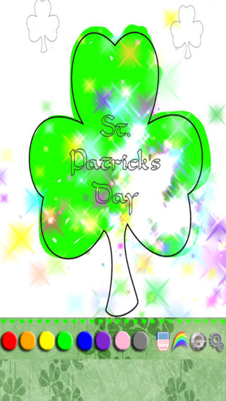Coloring St. Patrick's Day HD