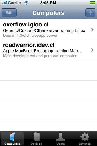 ITWorks Basic iPhone Screenshot 1