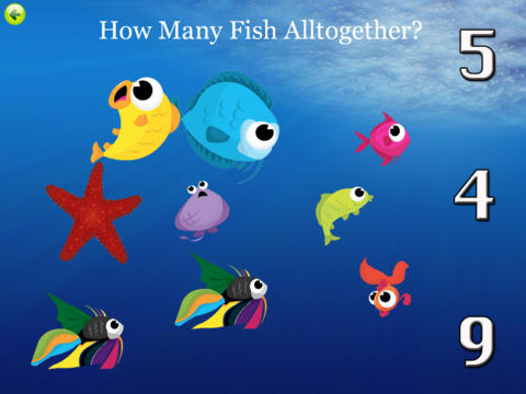 Fish Preschool Adventures HD iPad Screenshot 4