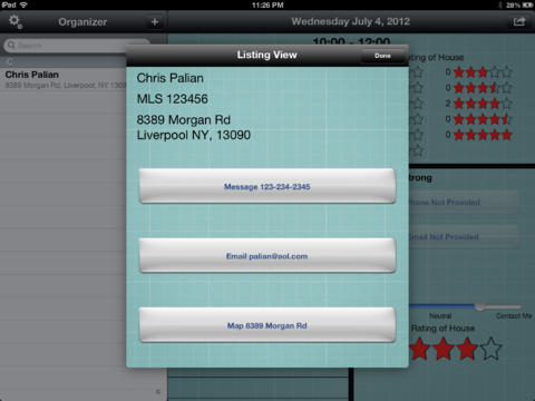 open house organizer app app