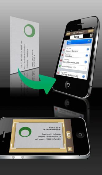 SamCard Pro-business card reader & business card scanner & visiting card