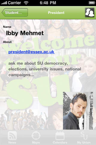 University of Essex Students' Union iPhone Screenshot 5