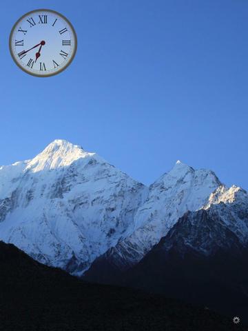 Himalayas Clock Features