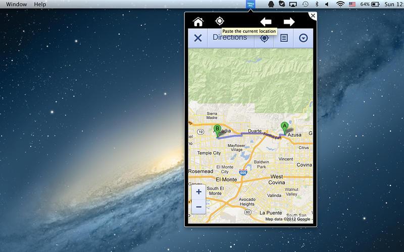MenuApp for Google Screenshot - 2
