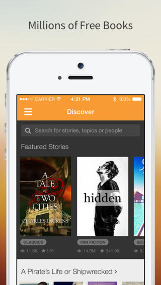 Free Books - Wattpad eBook Reader - Read Fiction, Romance, Fanfiction