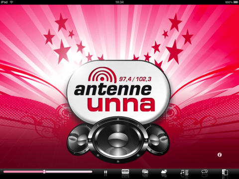 Antenne Unna, iPad Version iPad Screenshot 1