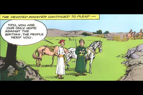 Tipu Sultan-The Mysore Tiger -  Amar Chitra Katha Comics