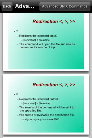 Advanced UNIX Commands