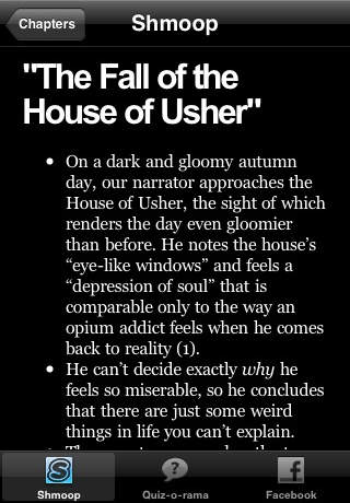 the fall of the house of usher analysis essay Edgar allan poe's the fall of the house of usher notes, test prep materials, and homework help easily access essays and lesson plans from other students and teachers.