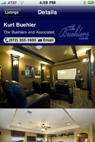 Screenshot of The Buehlers & Associates