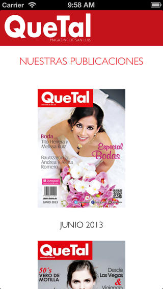 QueTal for iPhone