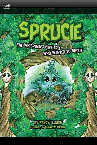 Sprucie the Whispering Pine Tree