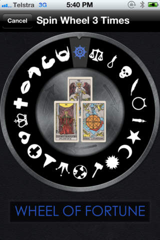 Tarot Wheel screenshot 1
