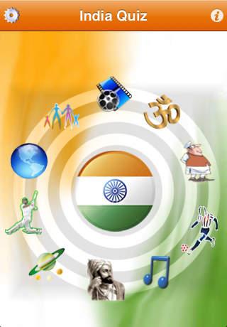 Know India: Quiz iPhone Screenshot 1