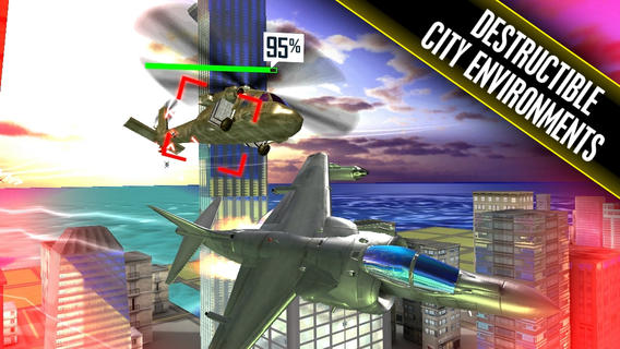 Benjamin Jet Fighters HD Games free for iPhone/iPad screenshot