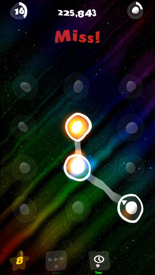 Screenshots of Dot Line for iPhone
