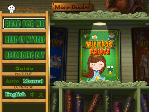 HappyReading-The Frog Prince HD