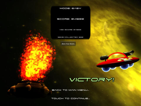 Ace of Space HD iPad Screenshot 5