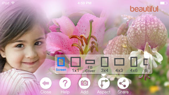 how to use pic collage to facebook