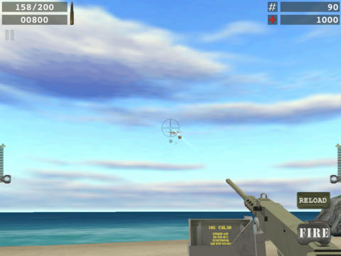 Blood Beach HD for iPad iPad Screenshot 3