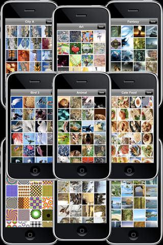 50,000+ 3D WallPaper FREE iPhone Screenshot 3
