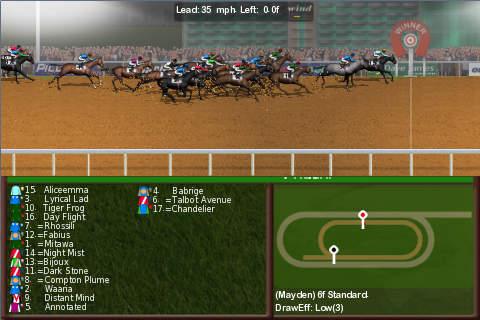 Horse Racing World flat edition