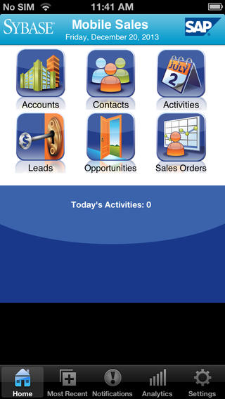 Sybase Mobile Sales 1.2.1.3